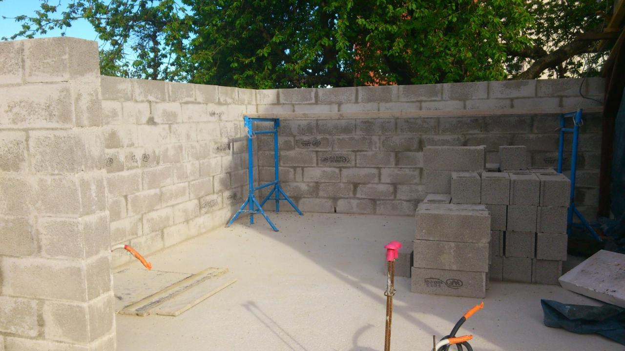 Montage des murs