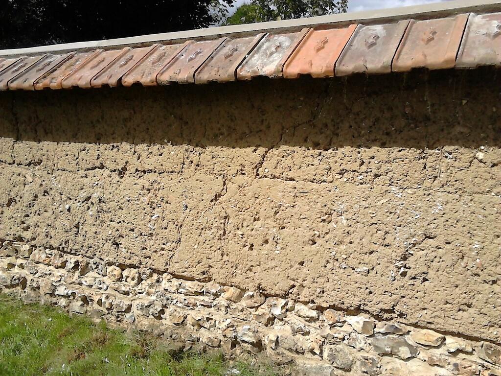 Mur terminé après couverture Face A