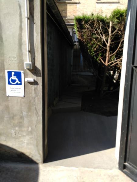elargissement de porte pour passage handicap s. Black Bedroom Furniture Sets. Home Design Ideas