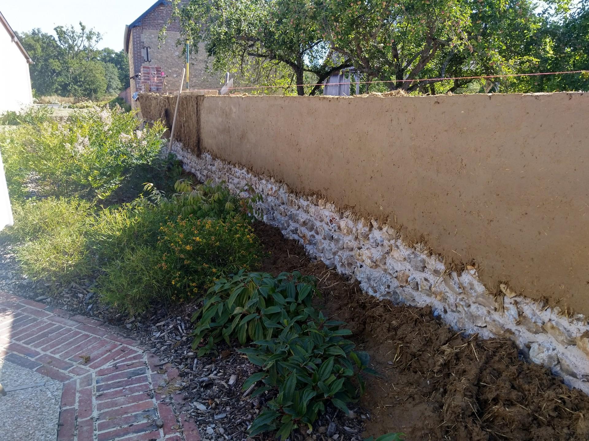 Montage du mur