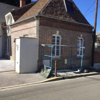 Rénovation façade en briques (1)