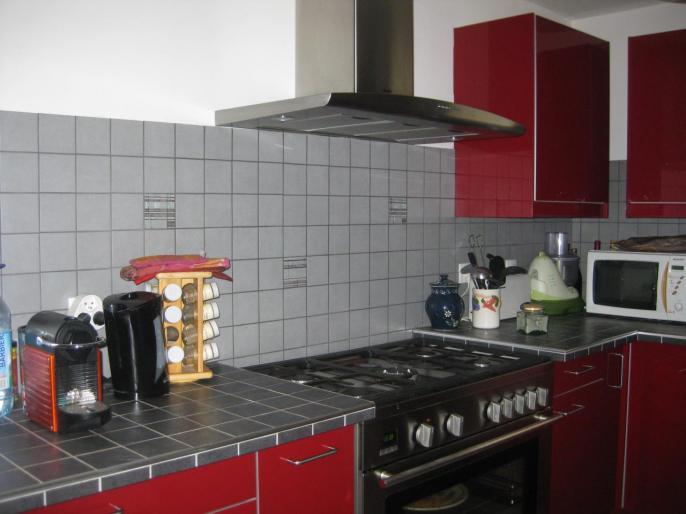 Pose de fa ence dans une cuisine for Pose faience cuisine