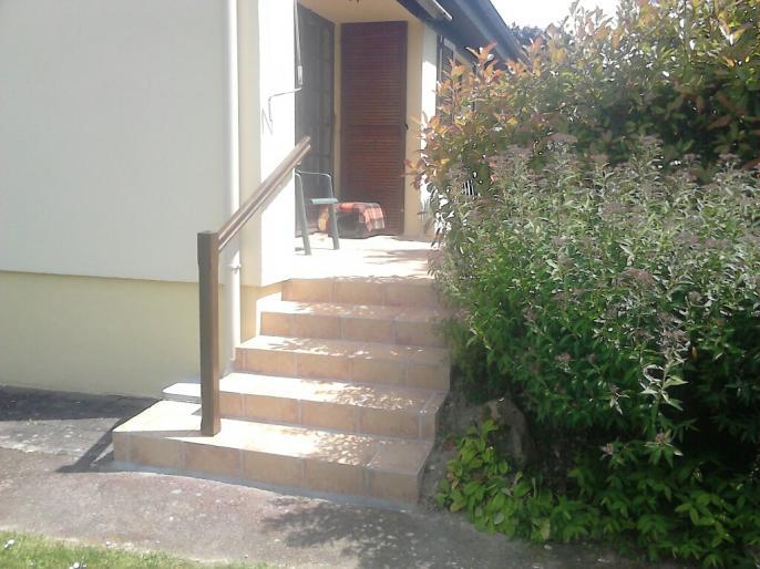 Modification d 39 un escalier et pose de carrelage for Pose carrelage escalier exterieur