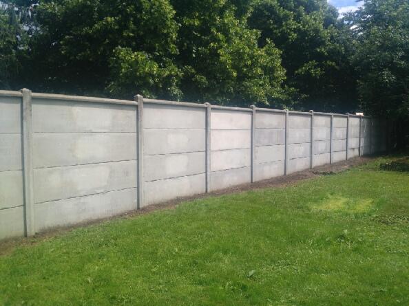 Mur en plaque terminé!