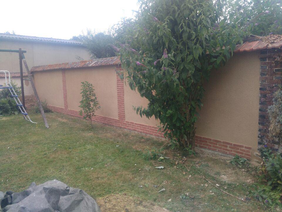 Mur A après renovation