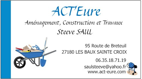 Carte De Visite ACTEure
